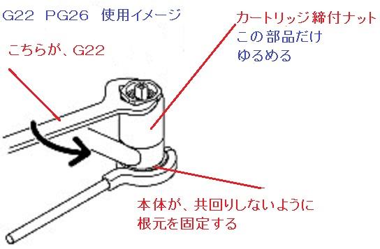 KVK シングルレバーカートリッジ 種類と交換の説明13.jpg